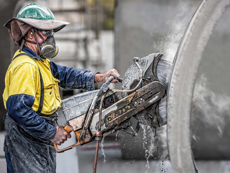 Резка бетона: может ли такой метод применяться при ремонтных работах?